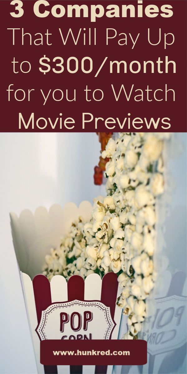 3 Ways to Make Money From Home Watching Movie Previews. #makemoneyfromhome #work… – Best way to make money