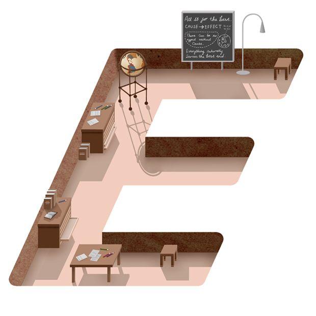 'E' by Adam Simpson