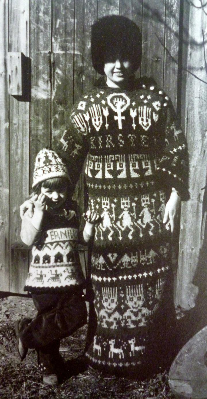 Knitting History Society : Images about retrostrikk on pinterest vintage ski