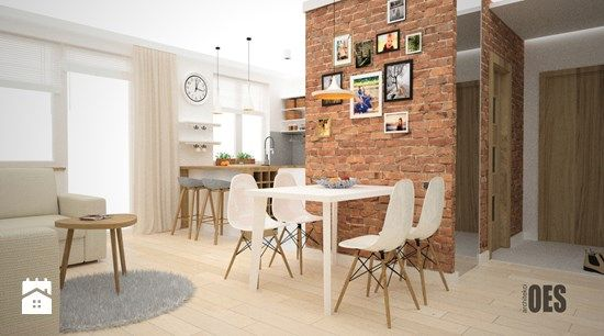 Salon styl Skandynawski - zdjęcie od OES architekci