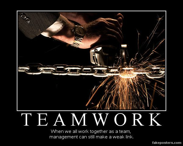 Teamwork Demotivational Poster My Style Pinterest