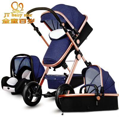 2017 3 in 1 kinderwagen licht baby auto neugeborenen wagen 0 36 monate europa kinderwagen. Black Bedroom Furniture Sets. Home Design Ideas