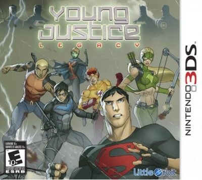 Young Justice: Legacy - 3DS, X360 - The sidekicks grow up and struggle with all that that entails...