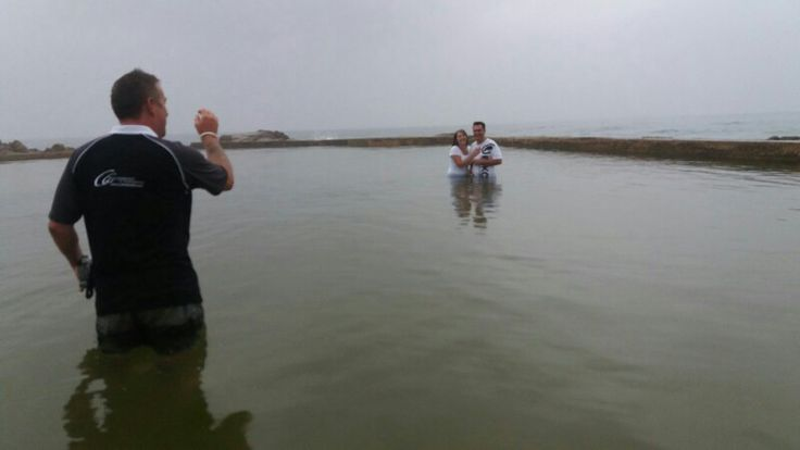 Had a wonderful couple shoot with an amazing couple willing to get wet... Amazing. #olympus