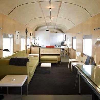 Converted Rail Car