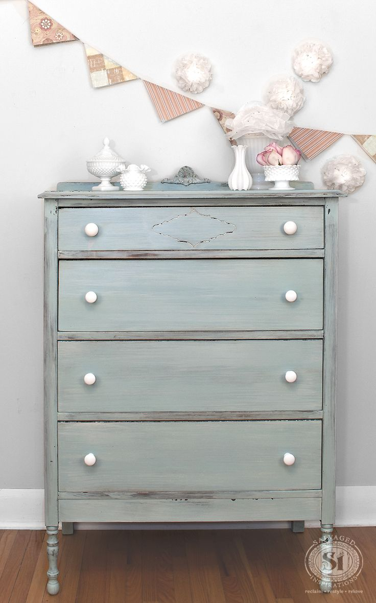 803 best Milk Paint Furniture images on Pinterest