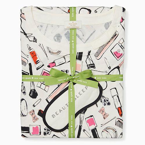 Kate Spade Sleep Shirt and Eyemask Set - BestProducts.com