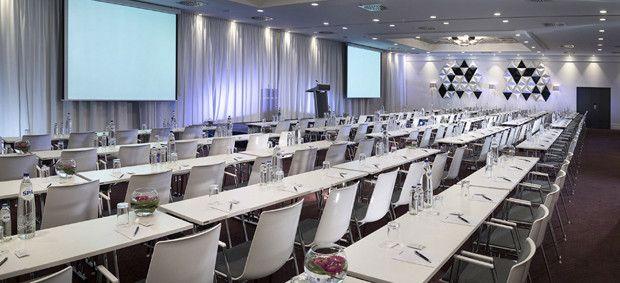 Nouveau centre de congrès pour l'hôtel Radisson Blu Royal à Bruxelles.