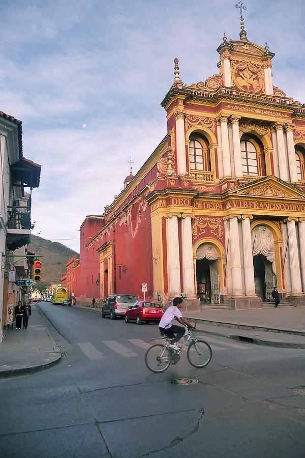"""""""""""Iglesia de San Francisco"""""""" en la ciudad de Salta, Argentina"""