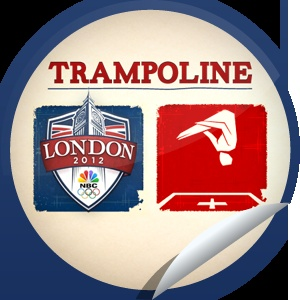 Roxy Terra's 2012 Summer Olympics Trampoline Sticker | GetGlue
