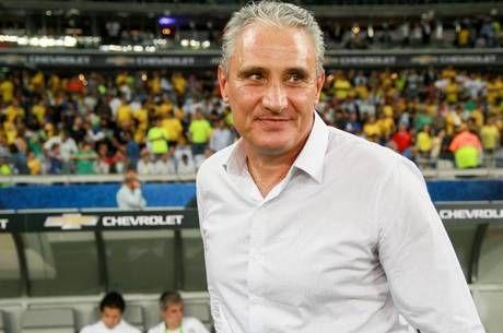 Tite está a uma vitória de recorde como treinador em Eliminatórias Foto: Telmo Ferreira/framephoto