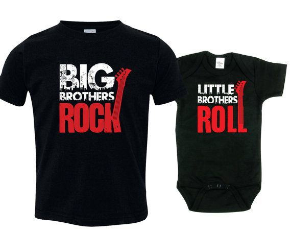 Big brother little brother shirts matching by SingleAndTwinShirts