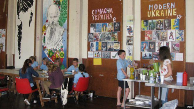 Classroom at Tarasivka