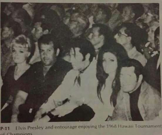 May 25, 1968 Elvis attended Ed Parker´s Karate Tournament of Champions at the Honolulu International Center where he was re-introduced to Ed Parker whom he had first met in 1961. Elvis and Priscilla also met former international light-contact champion Mike Stone.