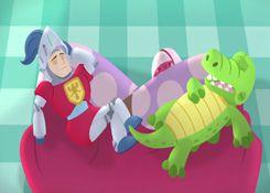 DoctoraJuguetesJuegos.com - Juego: Rompecabezas Sir Kirby y Gustavo - Juegos de Puzzles de Doctora Juguetes Disney Jugar Gratis Online