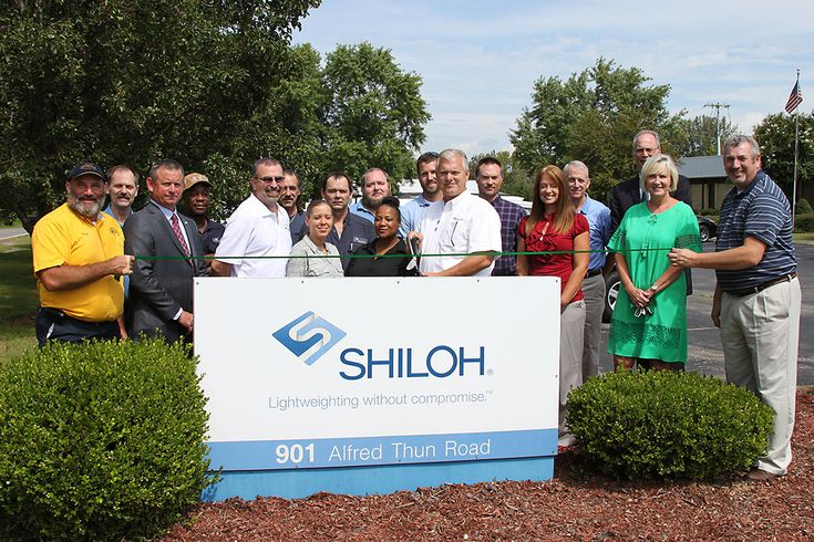 Shiloh Industries Becomes Clarksville Montgomery County Green Certified Montgomery County Shiloh Clarksville