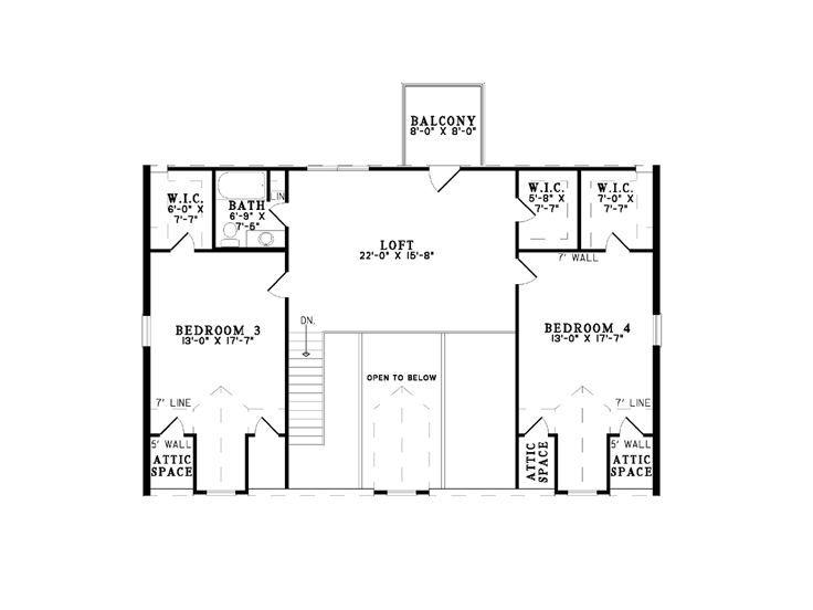 Country Log Home Plan, 025L-0041