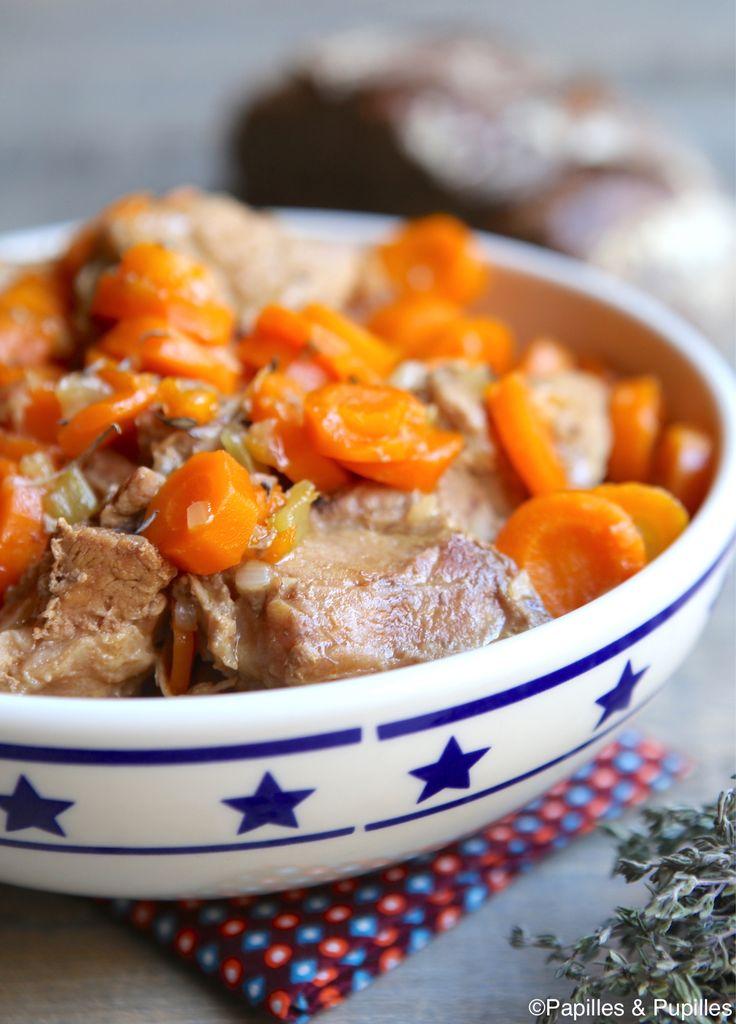 Sauté de veau aux carottes et au sirop d'érable