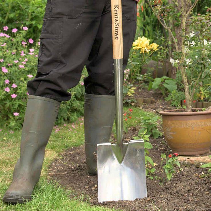 Grävspade, Digging Spade #Trädgårdsarbete #Trädgårdsredskap #Spade