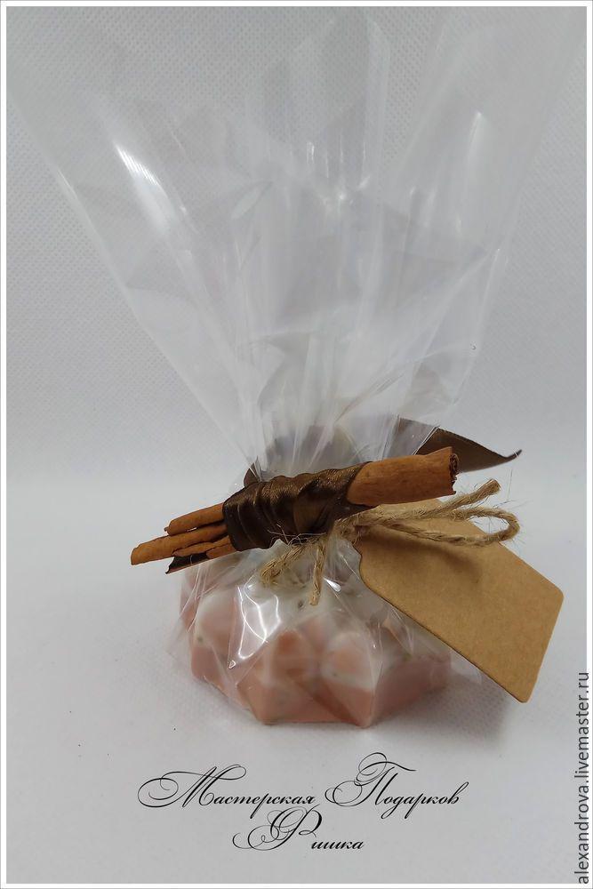 Подарочная упаковка для мыла «натуральная» - Ярмарка Мастеров - ручная работа, handmade