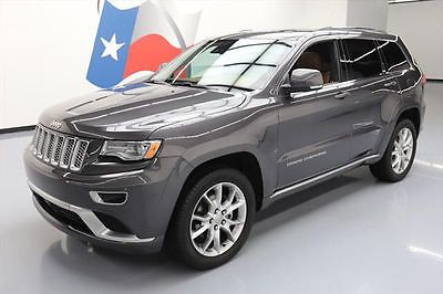eBay: 2016 Jeep Grand Cherokee 2016 JEEP GRAND CHEROKEE SUMMIT 4X4 PANO ROOF NAV 20K #352575 Texas Direct Auto #jeep #jeeplife