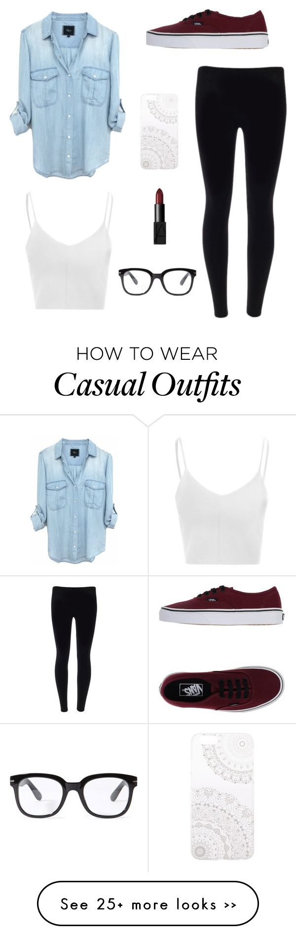 """casual"" by angiee125 on Polyvore"