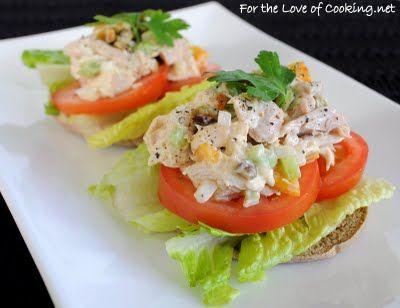 images about Chicken Salad Sandwich Recipe on Pinterest | Pistachios ...