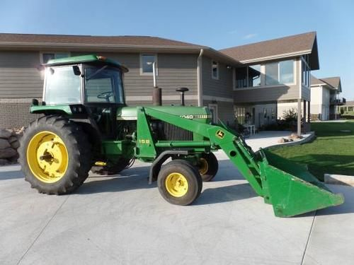 1979 John Deere 4040 Tractor for sale by owner on Heavy Equipment Registry. http://www.heavyequipmentregistry.com/heavy-equipment/14721.htm