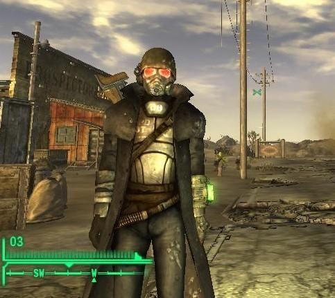 Fallout new vegas костюмы описание