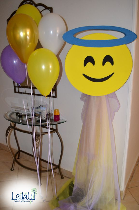 Emoji Sign for Themed Birthday Party Decorations by Leila Events (04134). For orders or further info call or whatsapp +201222220889