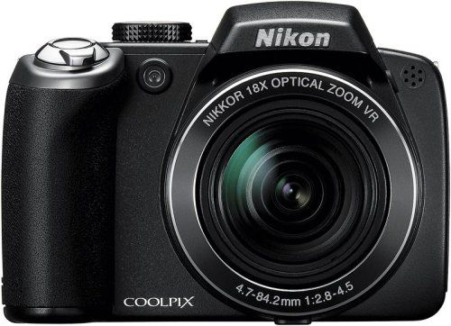 Nikon Coolpix P80 101MP Digital Camera with 18x Wide Angle Optical Vibration Reduction Zoom Black -- Click image for more details.Note:It is affiliate link to Amazon.