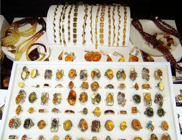 Baltic Amber Display
