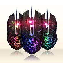 Usb optical mouse del gioco wired gamer giochi gaming mouse maus  Sanguinosa x7 tariffa ranton per pc laptop computer dota 2 lol  Deathadder(China (Mainland))