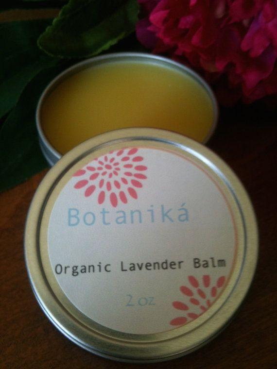 LAVENDER BALM Organic Salve Moisturizer Calming by BotanikaBeauty, $8.95