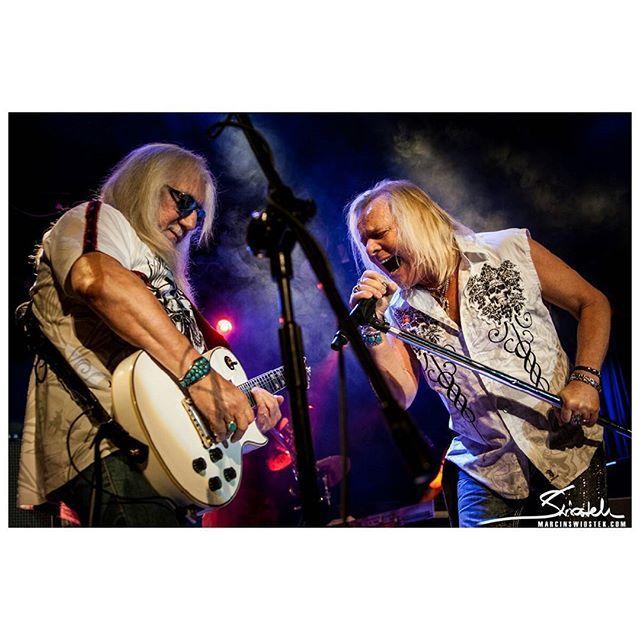 Mick Box and Bernie Shaw, Uriah Heep 18.11.2015 @ Rotunda, Kraków www.marcinswiostek.com | #classicrock #rock #concertphotography #concert #musicphotography #music #guitar #vocal #UriahHeep