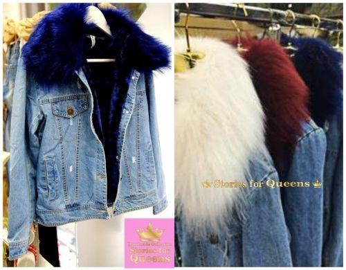 Τζιν με εσωτερική επένδυση γούνας η οποία αφαιρείται  http://handmadecollectionqueens.com/Τζιν-μπουφαν-με-αποσπωμενη-γουνα  #fashion   #jacket   #clothing   #women   #storiesforqueens