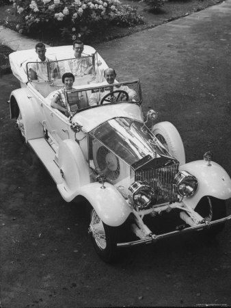 Rolls Royce The Phantom II was introduced in 1929 although Phantom I was still being produced.