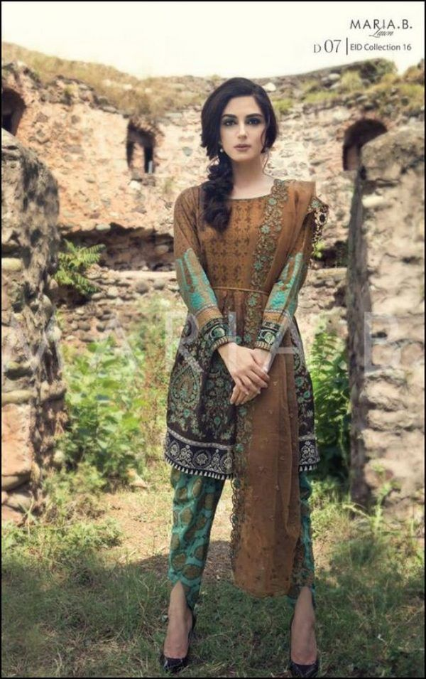 Maria B EID Lawn Collection 2016 Catalogue-2