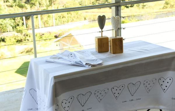 Heart Tablecloth