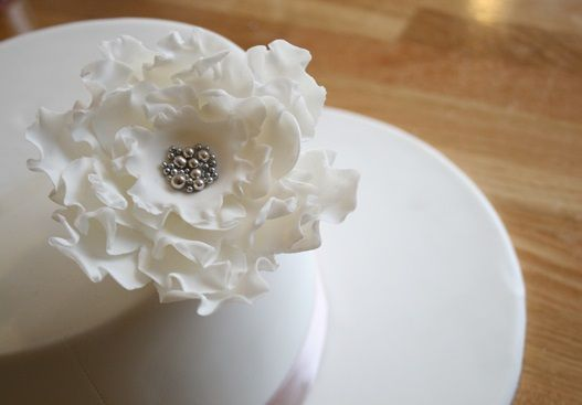rose corsage tutorial sugar flower tutorial from Cake Face via Polka Dot Bride