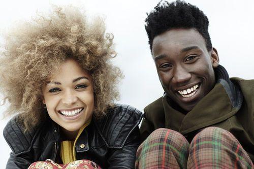 Antonia Thomas & Nathan Stewart-Jarrett (Alisha & Curtis on MISFITS)