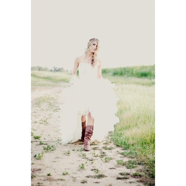 Wedding Dress Shoot with The Bachelor's Tenley Molzahn Part 1 «... ❤ liked on Polyvore featuring wedding and dresses