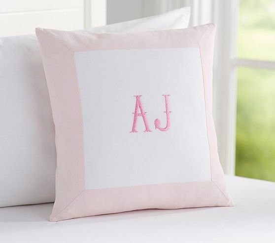 Border Personalized Sham | Pottery Barn Kids