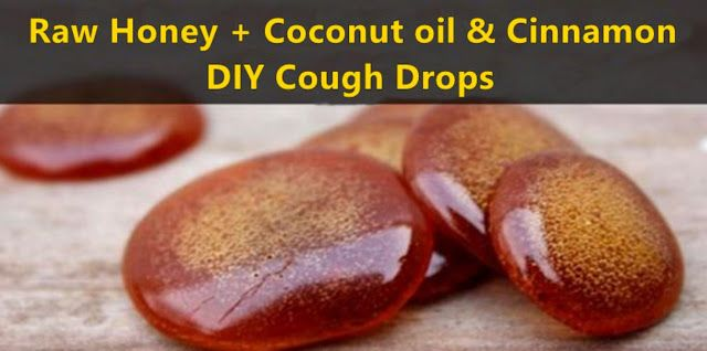 Raw Honey+Coconut Oil & Cinnamon-DIY Cough Drops That Will Save You A Trip To The Doctor's - RiseEarth