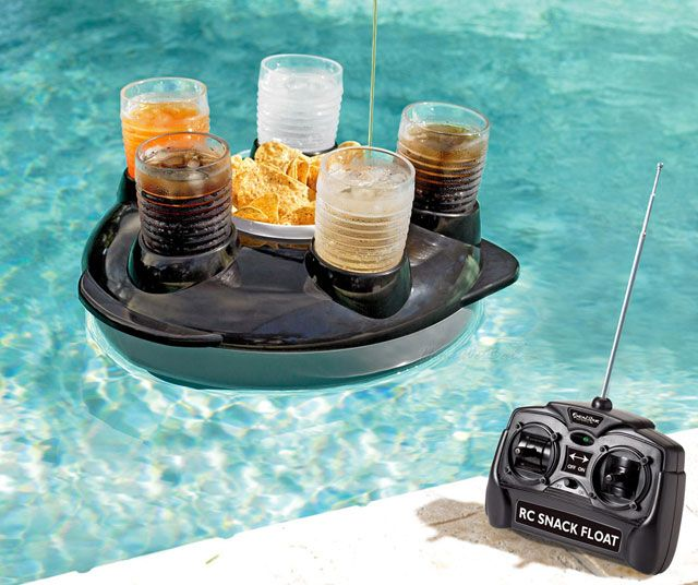 remote controlled drink float