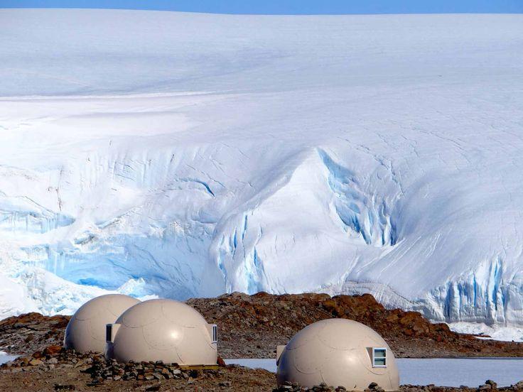 L'hôtel de luxe White Desert, posé sur la banquise - croisière en Antarctique