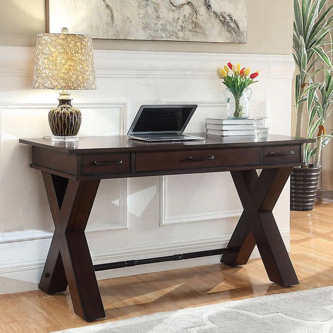 Maurice 54 Writing Desk Rustic Home Offices Home Office Design