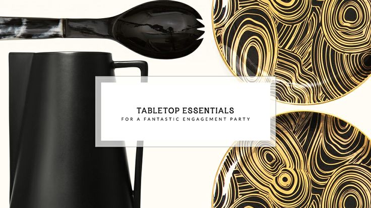 15 Tabletop Essentials for a Fantastic Engagement Party: Engagement Parties, Chic Spaces, 15 Tabletop, Essentials, Alternative Style, Engagement Party