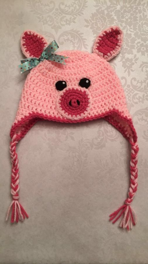 Piggy Hat Christmas Gift by CharleeAnn