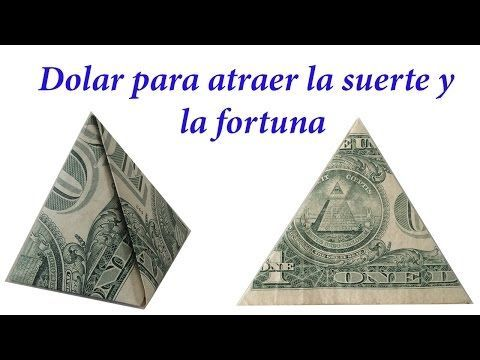 Dólar para la buena suerte. COMO DOBLAR UN DOLAR PARA LA SUERTE - YouTube